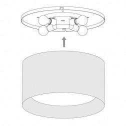 Plafonnier Bevel 4 lumières Astro Lighting