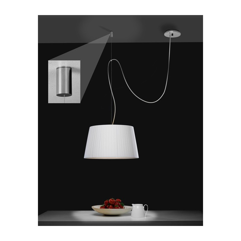 pat re d port e suspension pendant chrome astro lighting. Black Bedroom Furniture Sets. Home Design Ideas
