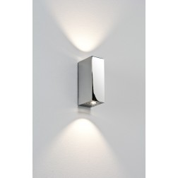 Applique LED Up & Down Bloc chrome