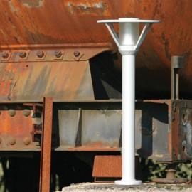 Borne Bermude 82cm Gris métal