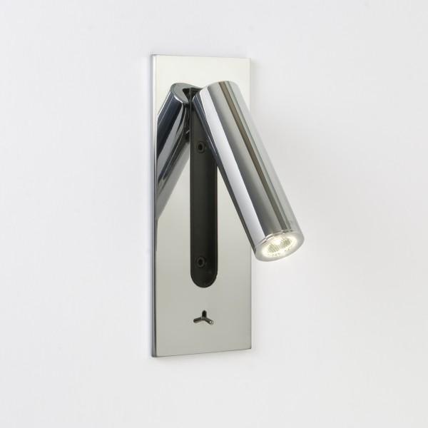 Applique murale encastrable LED Fuse chrome avec interrupteur Astro Lighting