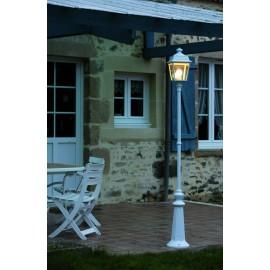 Lampadaire Place des Vosges 1 - Tradition Blanc