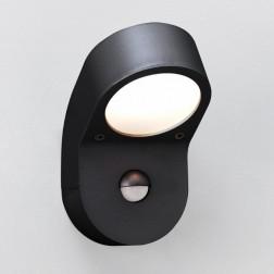 Applique murale Astro Lighting Soprano PIR noire avec détecteur