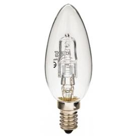 Ampoule halogène flamme E14 18W