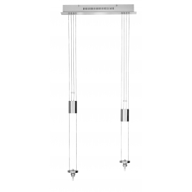 Suspension 'Monte et Baisse' 2 lumières Fischer Leuchten M6-Licht Medium