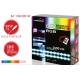 Ruban LED RGB 2 x 50cm Lumihome