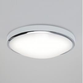 Plafonnier LED Osaka nickel brossé avec détécteur