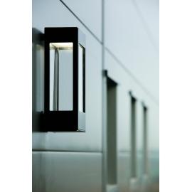 Applique murale LED Tetra noire