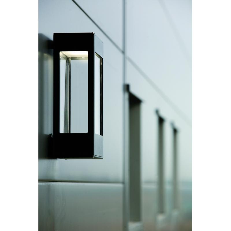 applique murale led tetra noire roger pradier. Black Bedroom Furniture Sets. Home Design Ideas