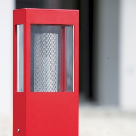 Borne LED Tetra rouge 50cm