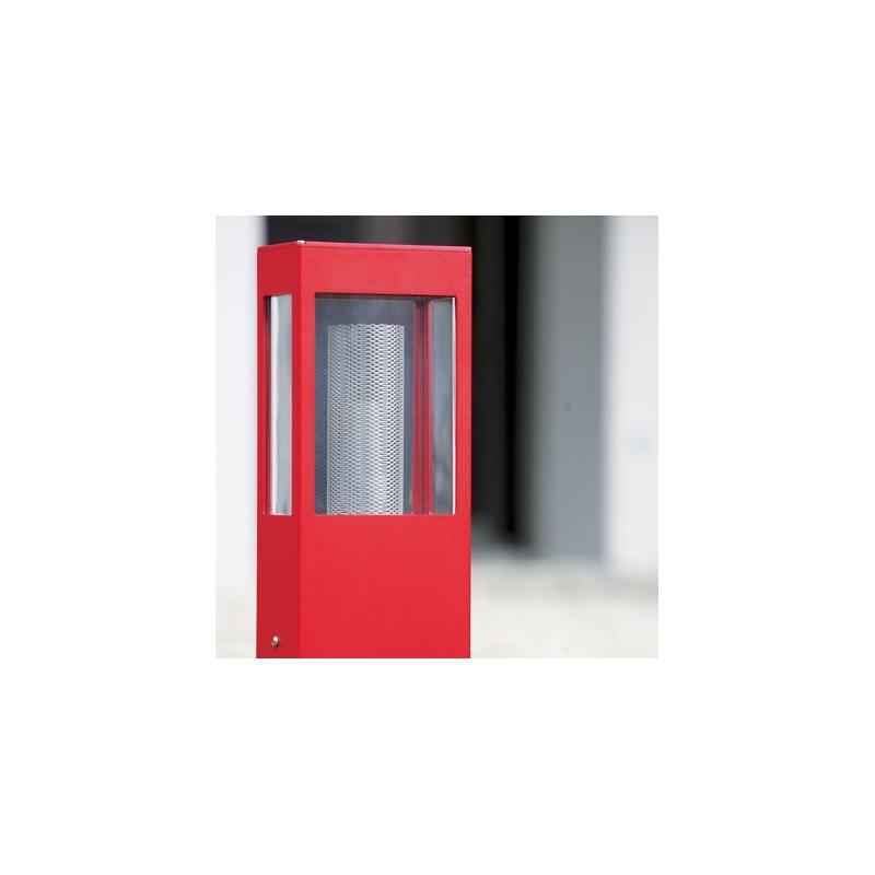 lampadaire led tetra rouge 210cm roger pradier. Black Bedroom Furniture Sets. Home Design Ideas