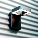 Applique murale LED Square noire