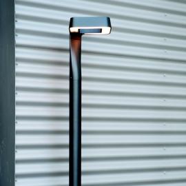 Lampadaire extérieur LED Square gris anthracite 229cm