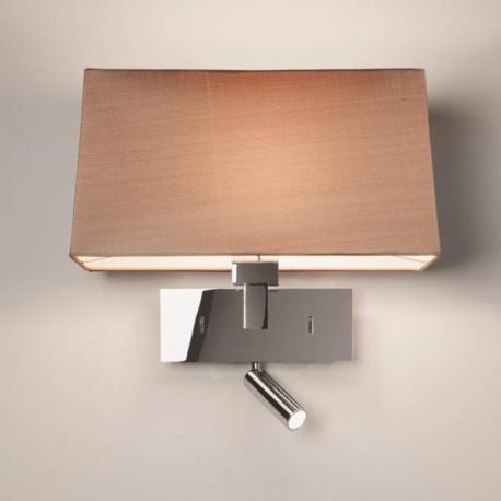 applique murale park lane reader chrome avec liseuse led astro lighting. Black Bedroom Furniture Sets. Home Design Ideas