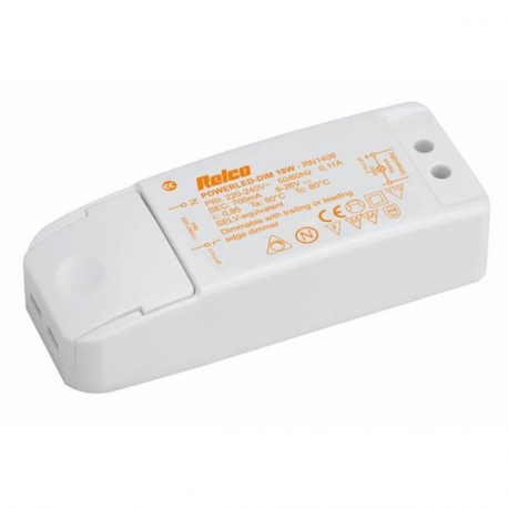 Driver LED 700mA 18W dimmable Astro Lighting