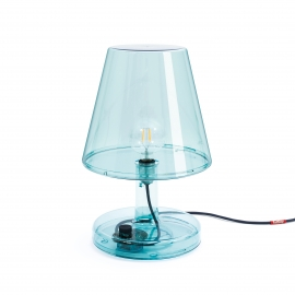 Lampe Trans-parents à poser Bleue